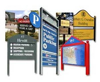 Esample of ourdoor signs for business