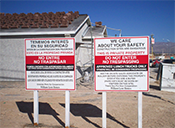 Construction Signs for the building trade