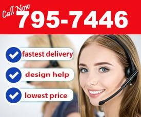call us at 795-7446