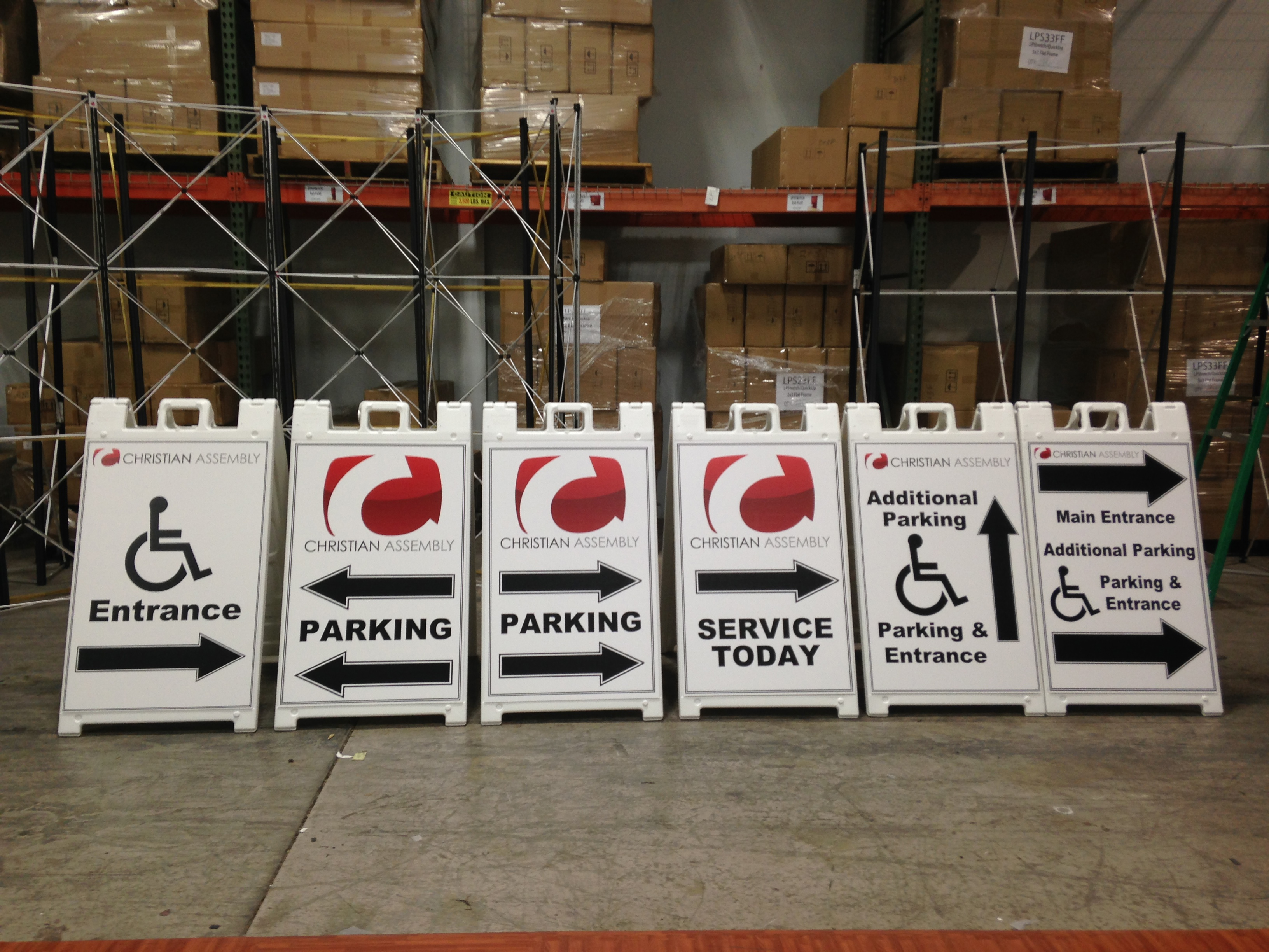 a frame sign inserts are customized easy to change and very cost ...