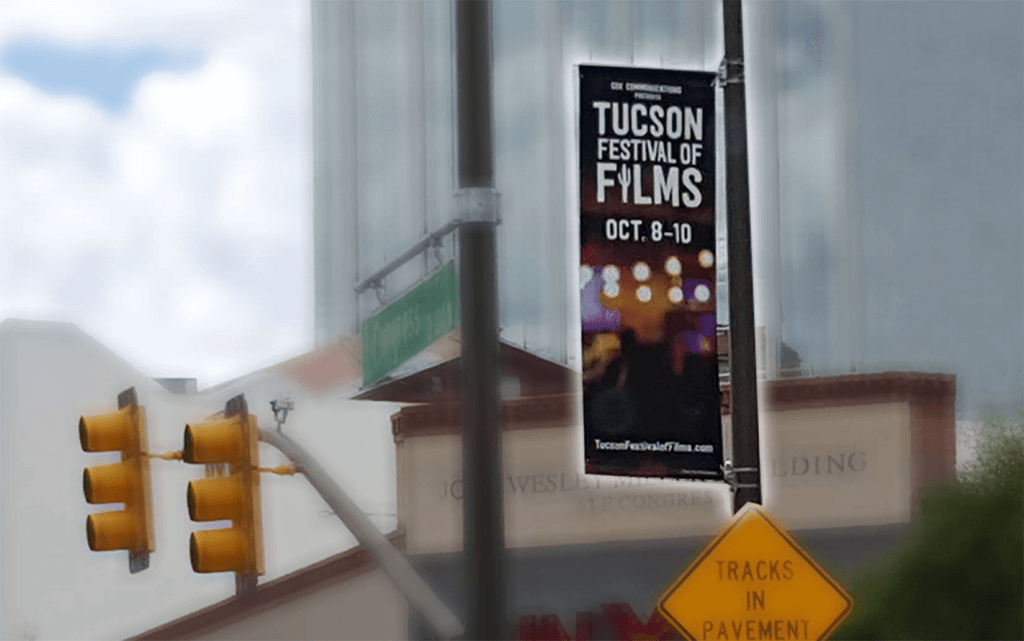 Street Banners for City Festivals