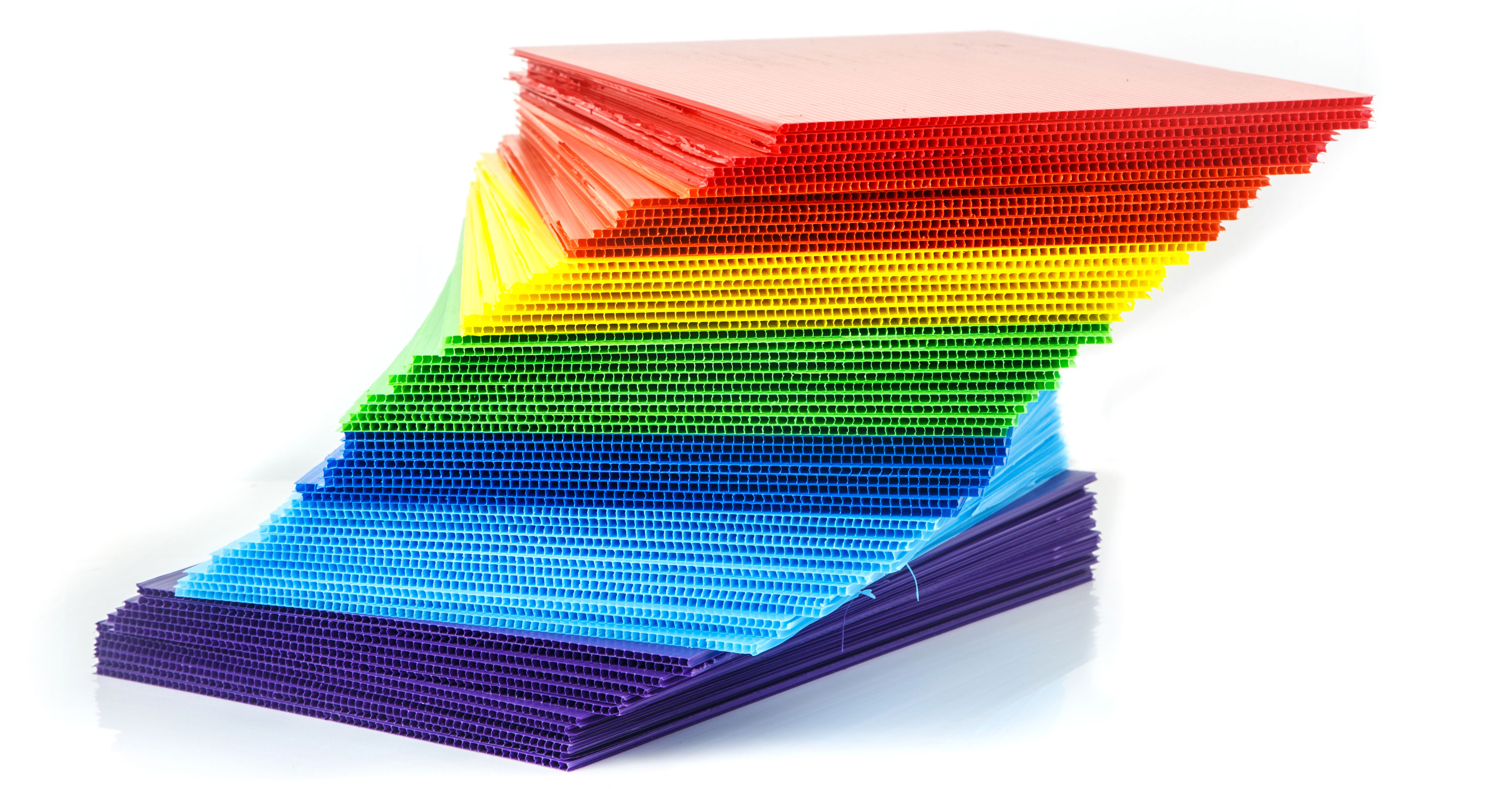 Corrugated Plastic Sheets Are Available In A Wide Variety