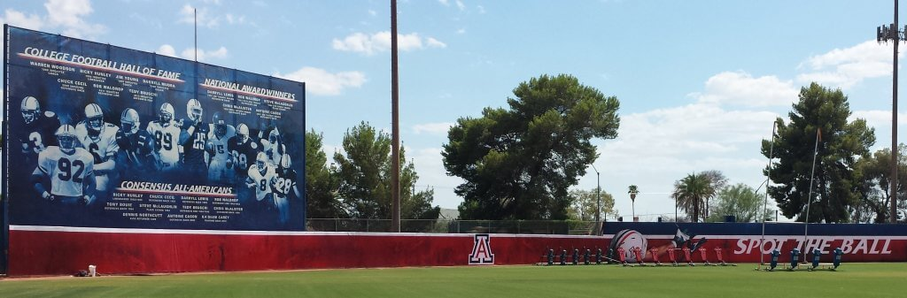 Mesh Banners University of Arizona