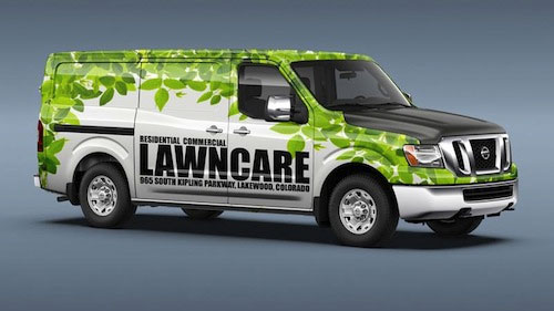 Digitally Printed Wrap