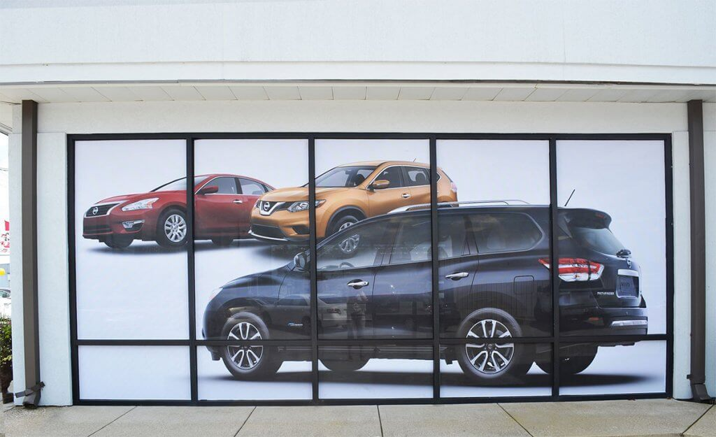 full color window displays