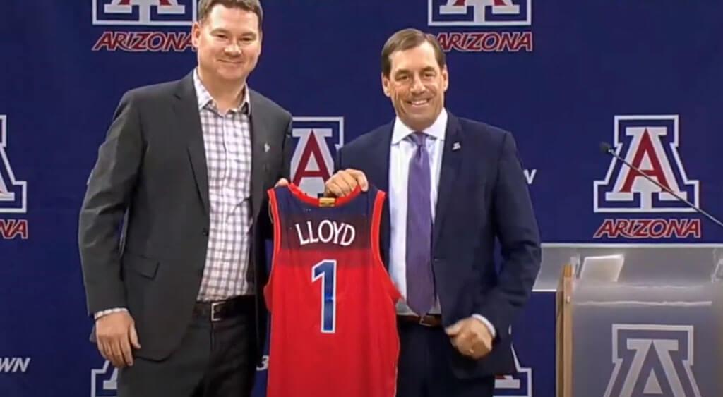 Arizona Mens Basketball Backdrops and Displays