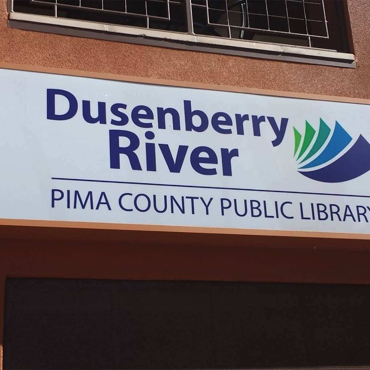 Acrylic Sign Face for Pima county Library