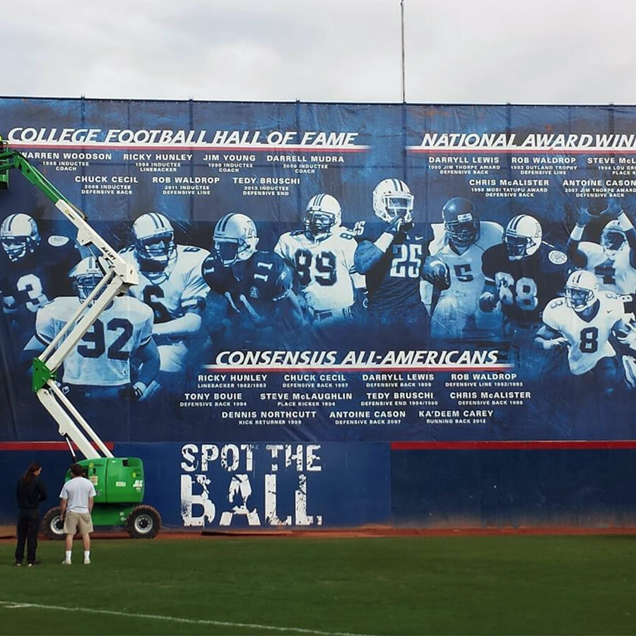 Banner for University of Arizona Football