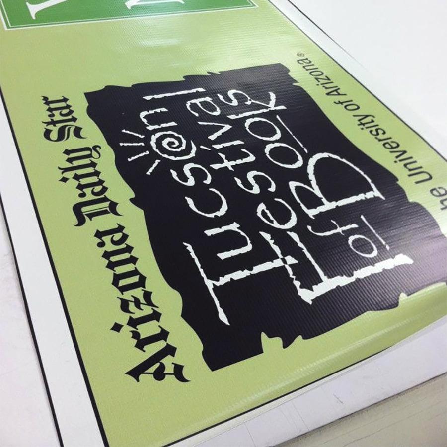 Banner for Tucson Festival of Books