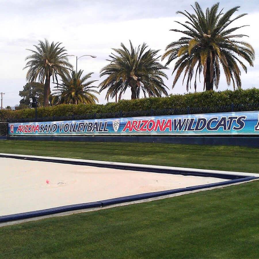 UA Sand Volley Ball Banner