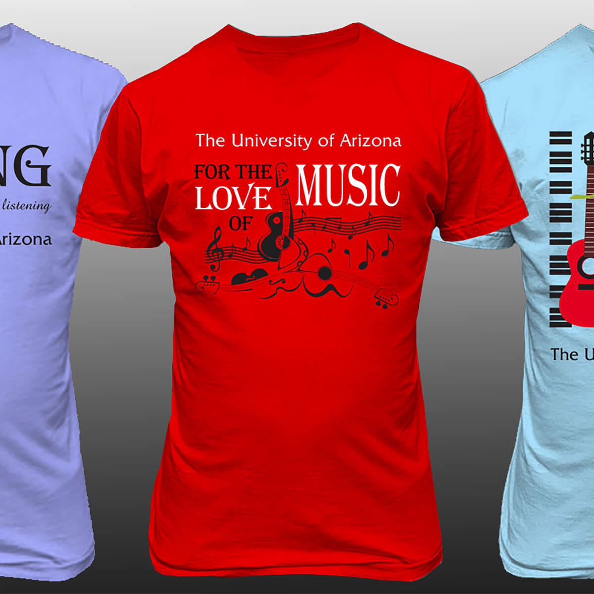 T-Shirts for University of Arizona Music Department