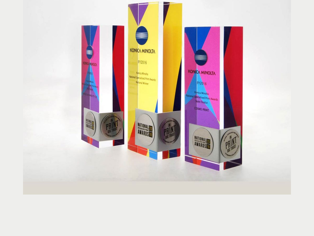 acrylic awards - awards and plaques