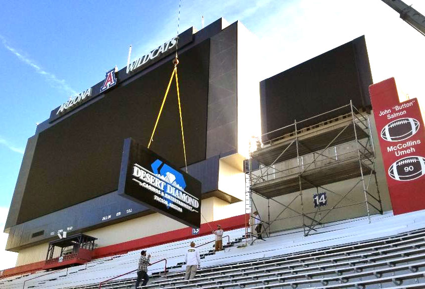 Desert Diamond at Arizona Stadium