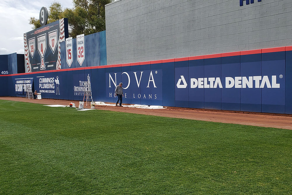 Nova Home Loans Outfield Banner