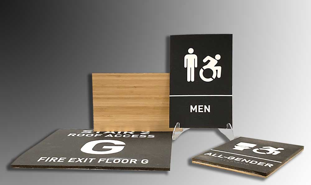 Sustainable ADA Signage