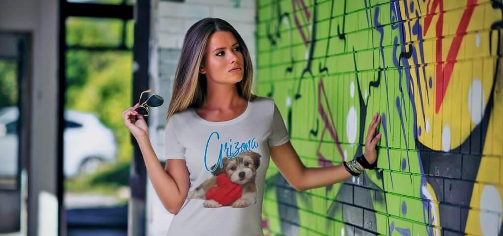 Custom Ladies Tee Shirt
