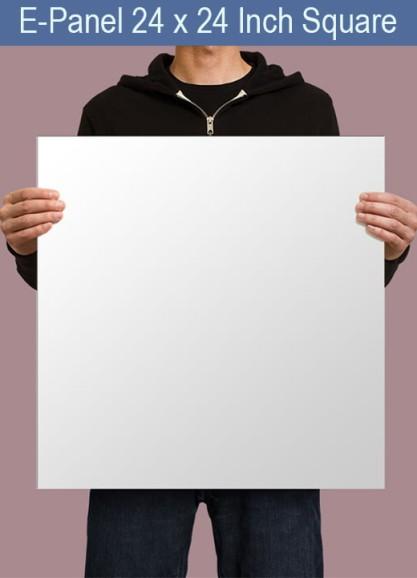 E-Panel 25 inches x 25 inches