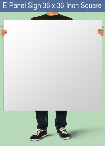 E-Panel 36 inches x 36 inches